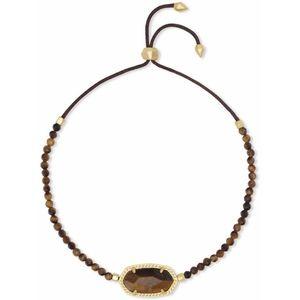 NWT Kendra Scott Elaina Tigers Eye Bracelet